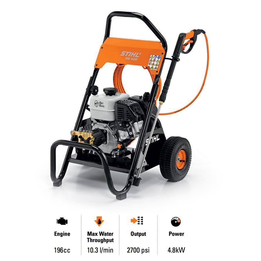 Stihl RB 400 Dirt Boss® Petrol High Pressure Cleaner