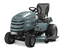 Ride on tractor mowers come in a wide range of sizes and cut widths