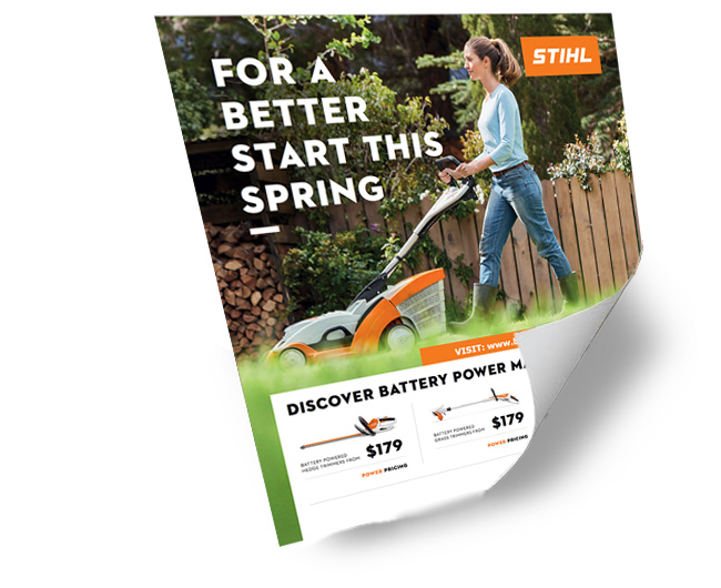 Stihl Catalogue Promotion