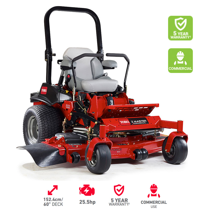"60"" - 152 cm Toro Z Master 3000 Series MyRide® Zero Turn Mower"