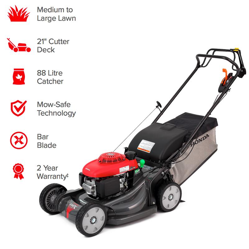 "21"" Honda HRX217K6HYUA Premium Lawn Mower"