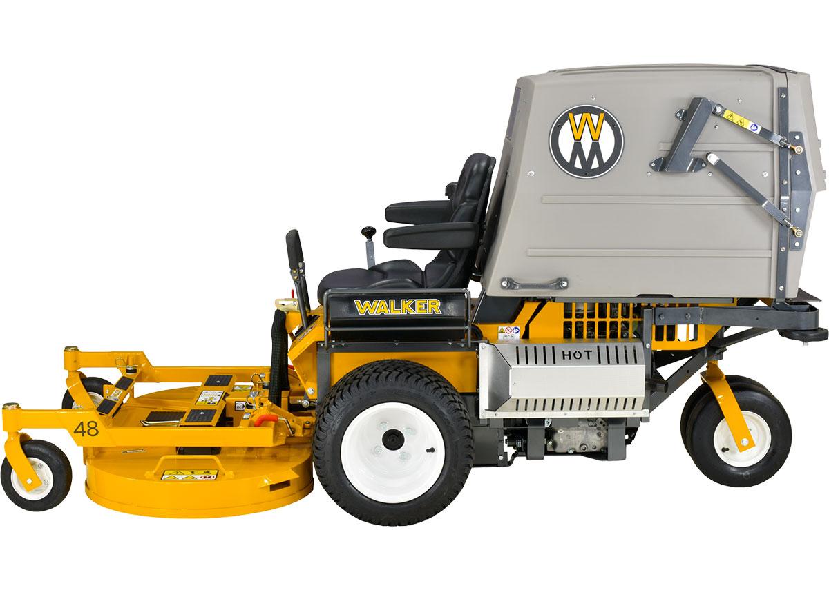 Walker Mower MT23 - grass collection mower