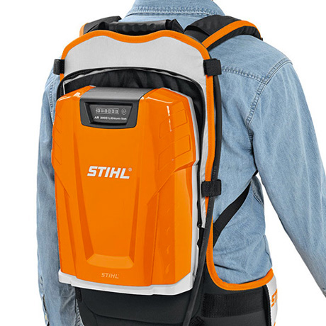 Stihl AR 3000 Backpack Battery rear view
