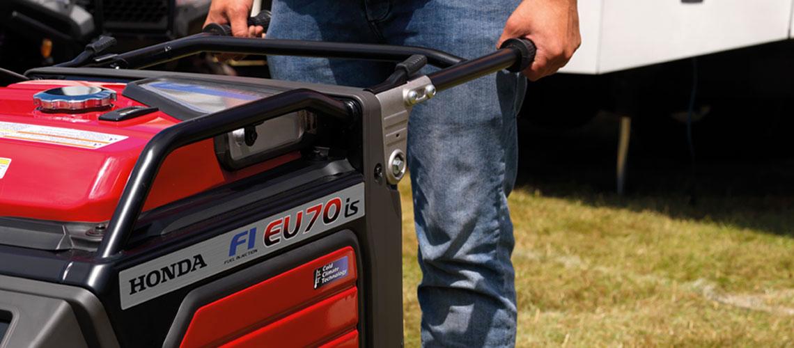 Honda EU70is super quiet generator