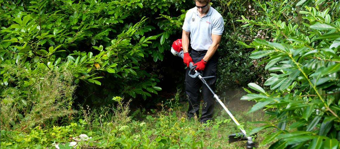 The Honda VersaTool Brushcutter Grass Trimmer