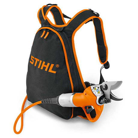 Stihl ASA 65 Battery Pruning Shears - Battery harness system