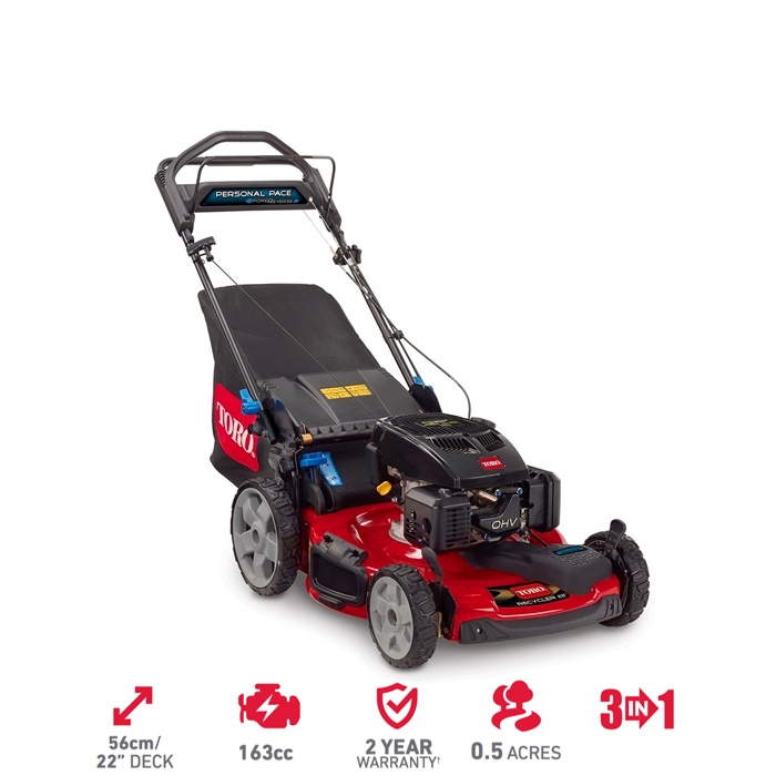 "22"" - 56cm PoweReverse™ Personal Pace® High Wheel Mower"