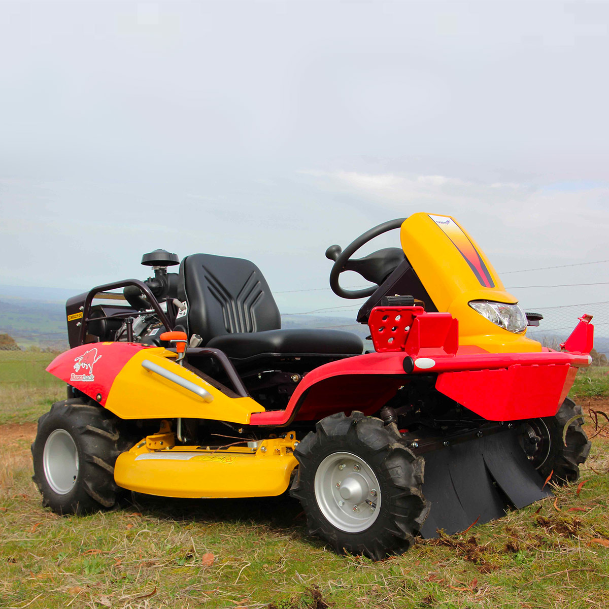 Razorback CMX2302 steep hill mower