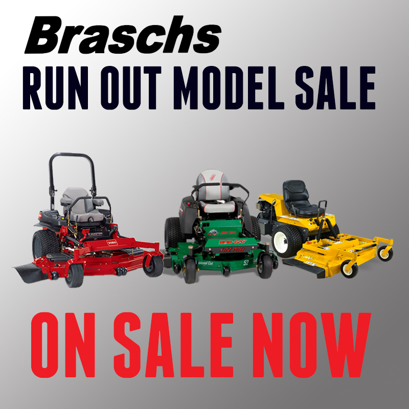 Braschs Run Out Sale